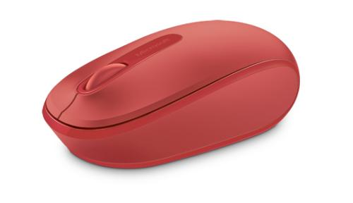 MICROSOFT WIRELESS MOBILE MOUSE 1850  EN+ RED