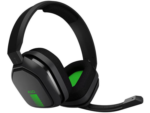Logitech Astro Gaming A10 Headset Grey/Green