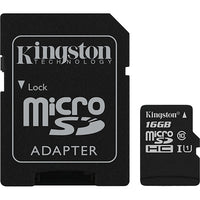 Kingston Canvas Select microSDHC Card - 16GB
