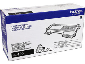 Brother TN-420 Black Toner Cartridge (Standard Yield)