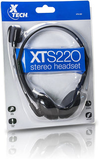 Xtech Americas Wired Headset with Microphone
