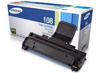 Samsung MLT-D108 Black Toner Cartridge, Standard Yield