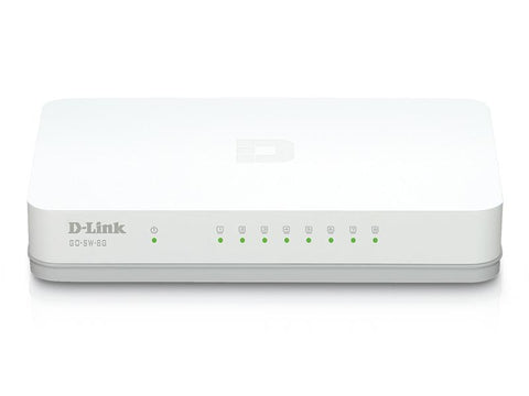 D-LINK DESKTOP SWITCH 8 PORT GIGABIT
