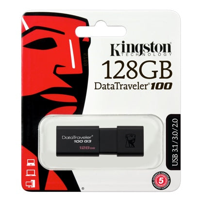 Kingston USB3.0 DataTraveler 100 G3 128GB