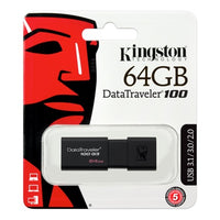 KINGSTON USB3.0 DATATRAVELER 100 G3 64GB