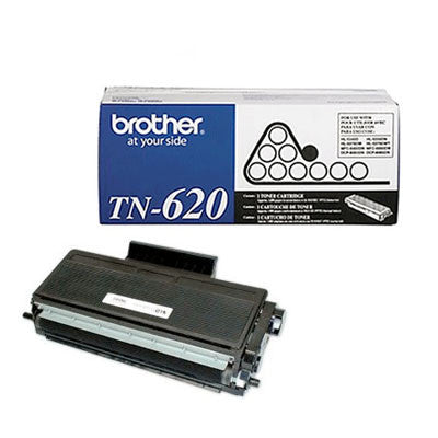Brother TN-620 Black Toner Cartridge (Standard Yield)