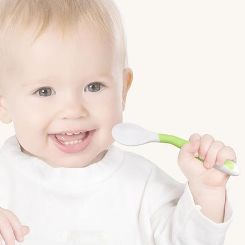 Bendable Baby Spoon Fork Set- Feeding Baby | The Everbloomer