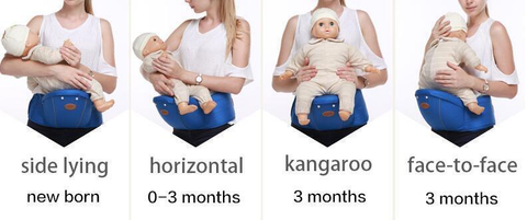 9-in-1 Ergonomic Baby Carrier