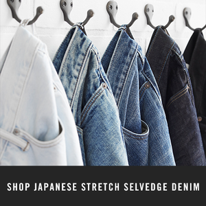 Shop Japanese Stretch Selvedge Denim