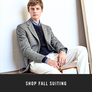 Shop Fall Suiting
