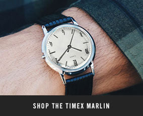 5221a16bd70 The Timex Marlin Watch