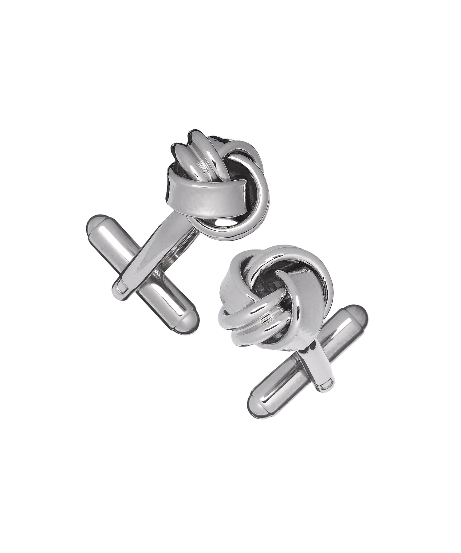 Link Up Classic Metal Knot Cufflinks