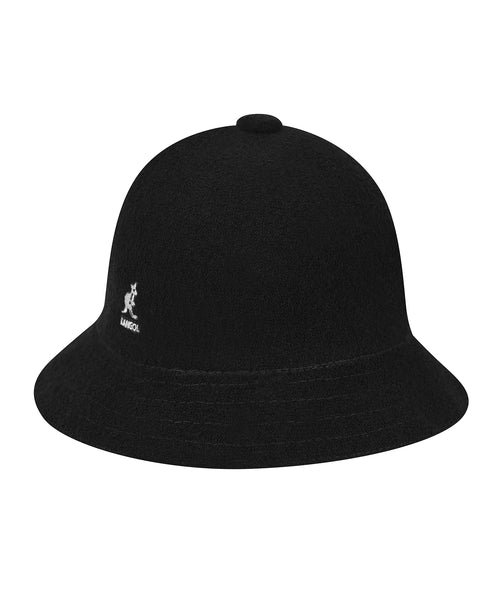 Kangol Bermuda Casual Bucket Hat in Black