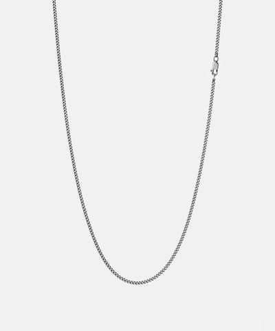 Miansai 2mm Chain Necklace in Sterling Silver