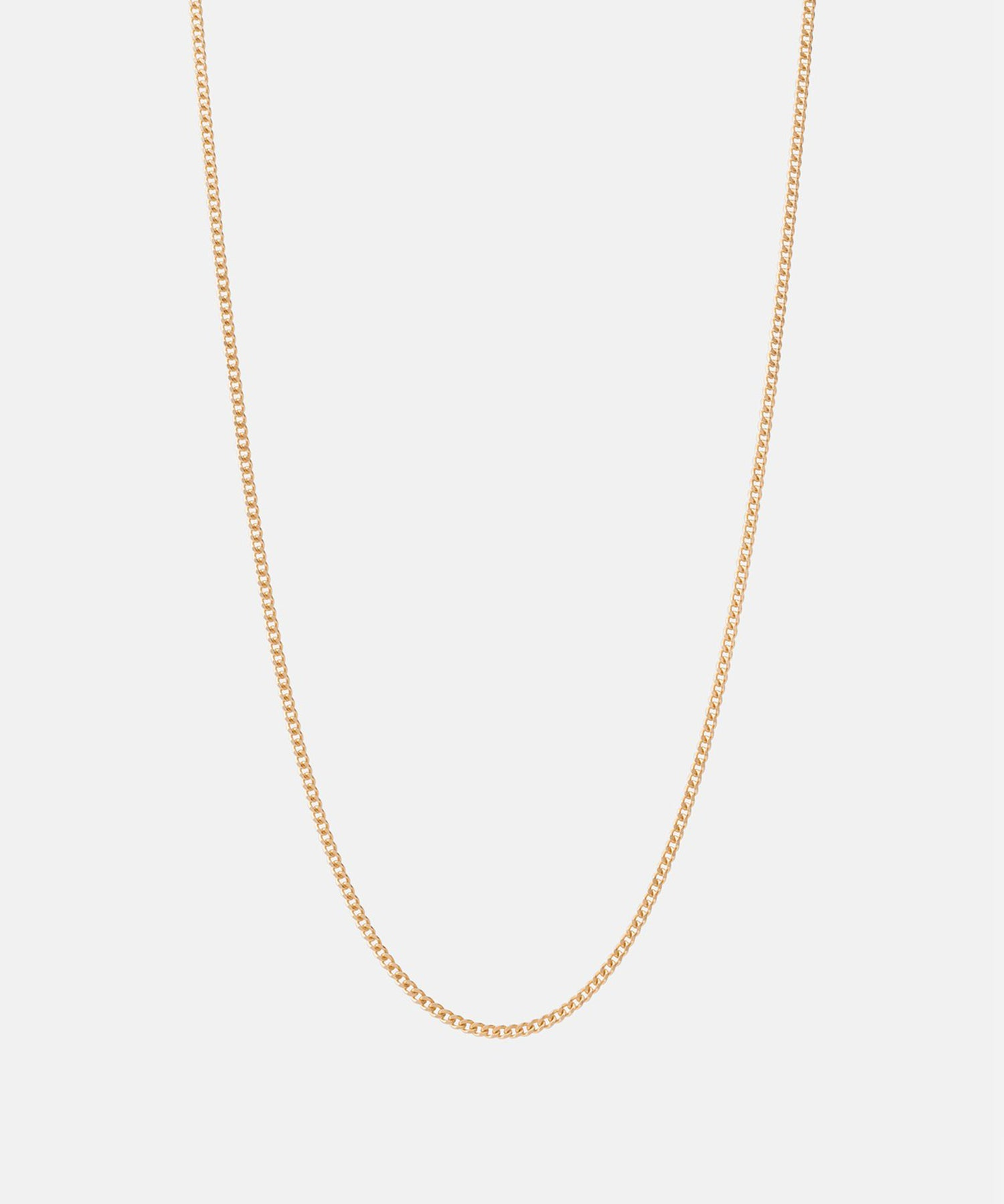 Miansai 2mm Chain Necklace in Gold Vermeil