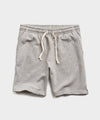 Lightweight Warm Up Short in Light Grey Mix