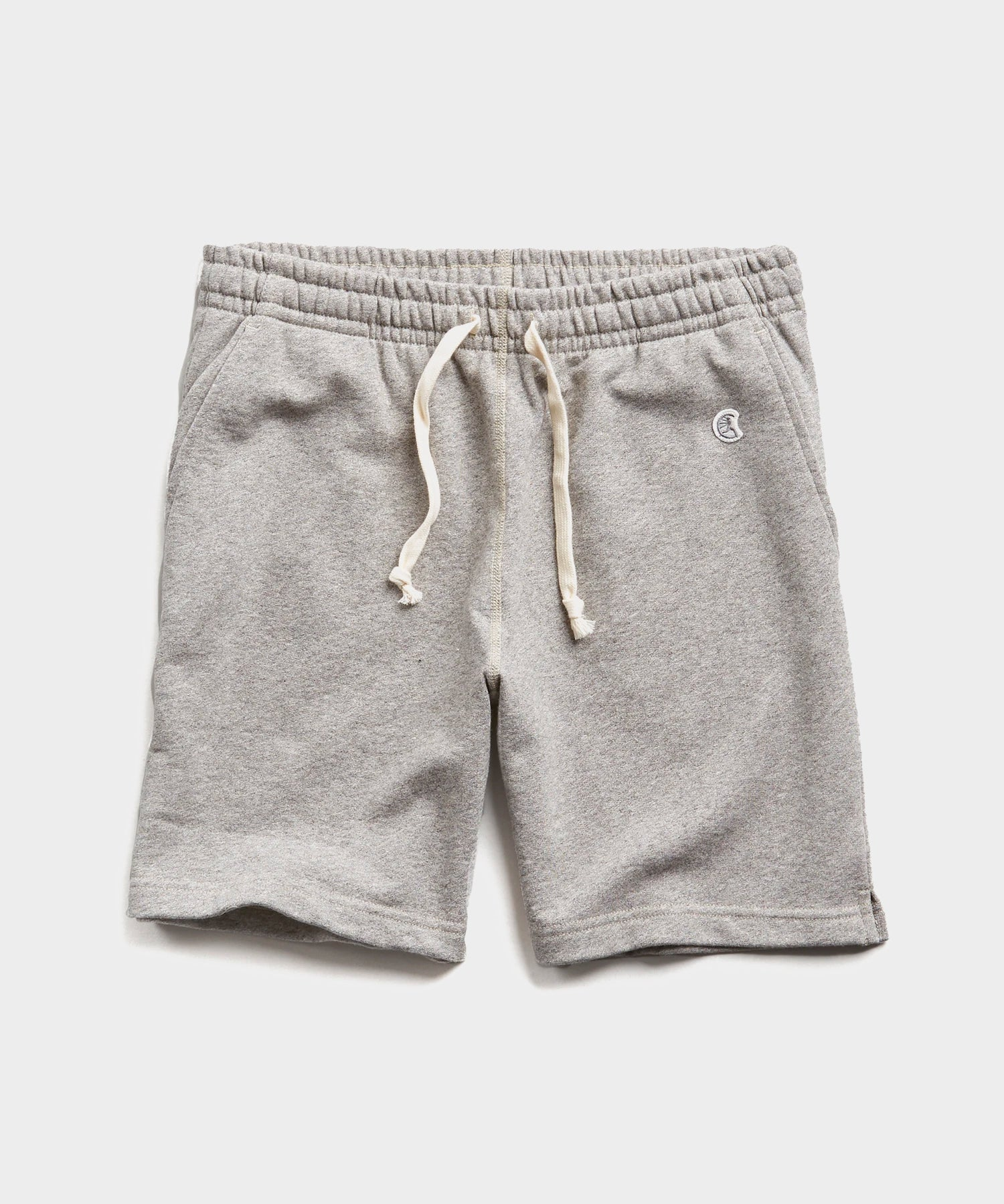 "7"" Lightweight Warm Up Short in Light Grey Mix"