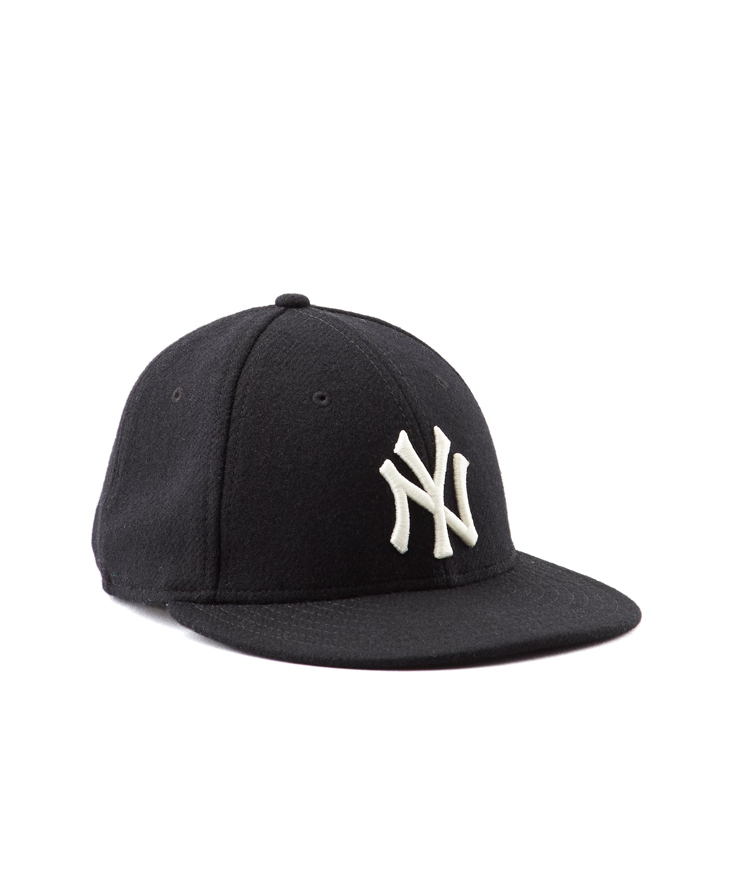 dbbbb43a Todd Snyder + New Era NY Yankees Black Wool Hat