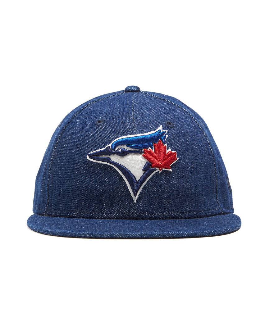 new product 2f491 23a15 ... new zealand todd snyder new era mlb toronto blue jays cap in cone denim  ddb07 796f8