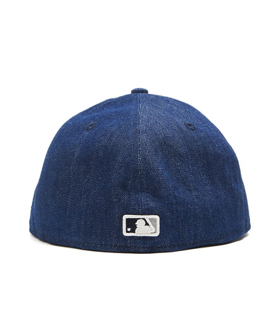 TODD SNYDER + NEW ERA MLB SEATTLE MARINERS CAP IN CONE DENIM
