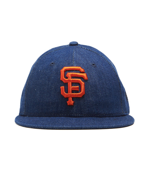 TODD SNYDER + NEW ERA MLB SAN FRANCISCO GIANTS CAP IN CONE DENIM