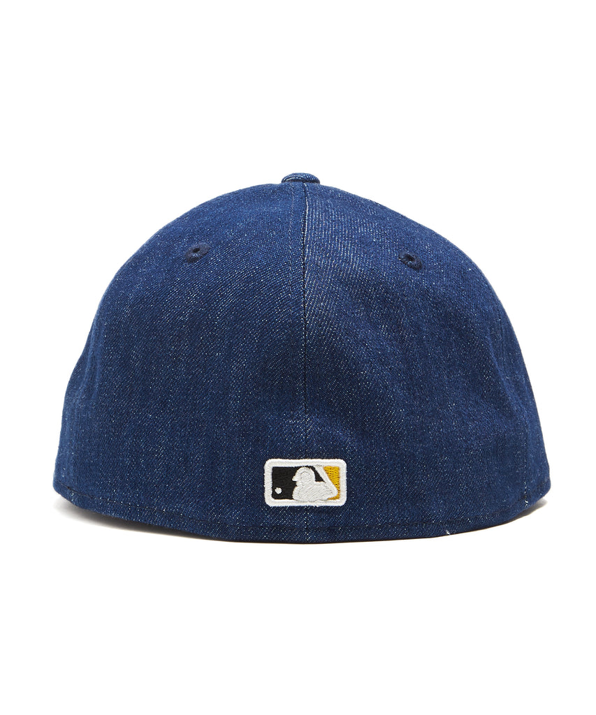 TODD SNYDER + NEW ERA MLB PITTSBURGH PIRATES CAP IN CONE DENIM 4c78a7d05cf7