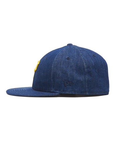 TODD SNYDER + NEW ERA MLB PITTSBURGH PIRATES CAP IN CONE DENIM