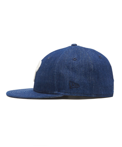 TODD SNYDER + NEW ERA MLB PHILADELPHIA PHILLIES CAP IN CONE DENIM