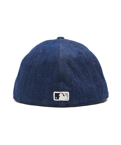 TODD SNYDER + NEW ERA MLB NEW YORK YANKEES CAP IN CONE DENIM