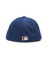 TODD SNYDER + NEW ERA MLB LOS ANGELES DODGERS CAP IN CONE DENIM