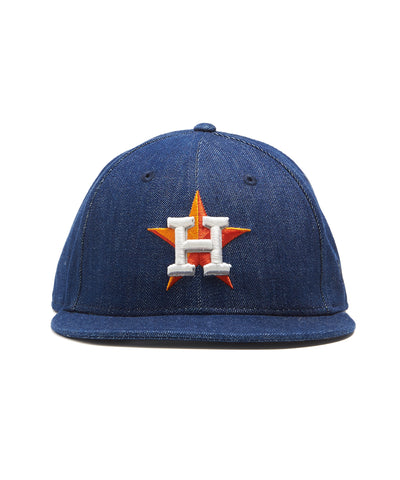 TODD SNYDER + NEW ERA MLB HOUSTON ASTROS CAP IN CONE DENIM