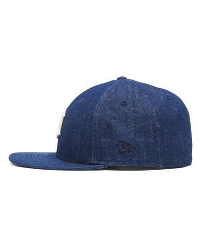TODD SNYDER + NEW ERA MLB DETROIT TIGERS CAP IN CONE DENIM