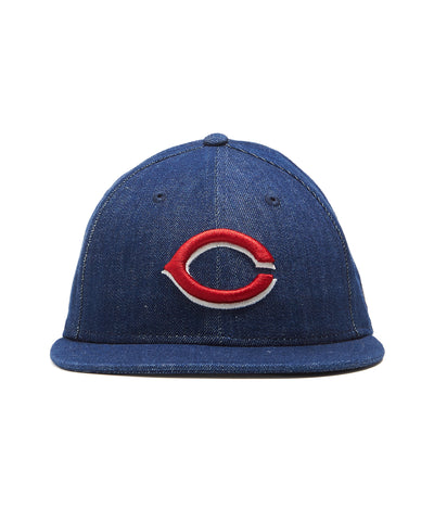 TODD SNYDER + NEW ERA MLB CINCINNATI REDS CAP IN CONE DENIM