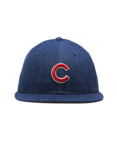TODD SNYDER + NEW ERA MLB CHICAGO CUBS CAP IN CONE DENIM
