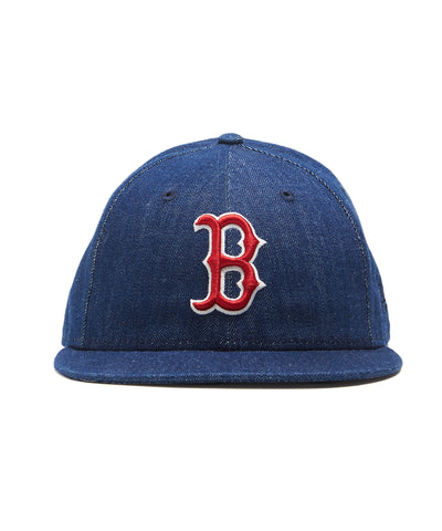 TODD SNYDER + NEW ERA MLB BOSTON RED SOX CAP IN CONE DENIM