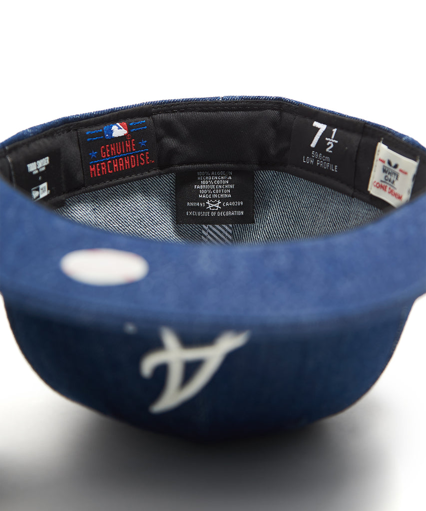 brand new f3e5f 2b5fb TODD SNYDER + NEW ERA MLB ATLANTA BRAVES CAP IN CONE DENIM