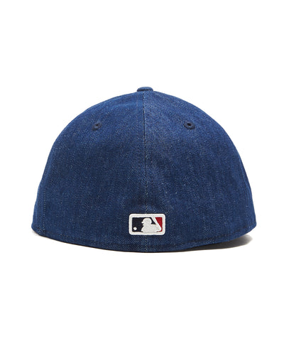 Todd Snyder + New Era MLB Anaheim Angels Cap In Cone Denim