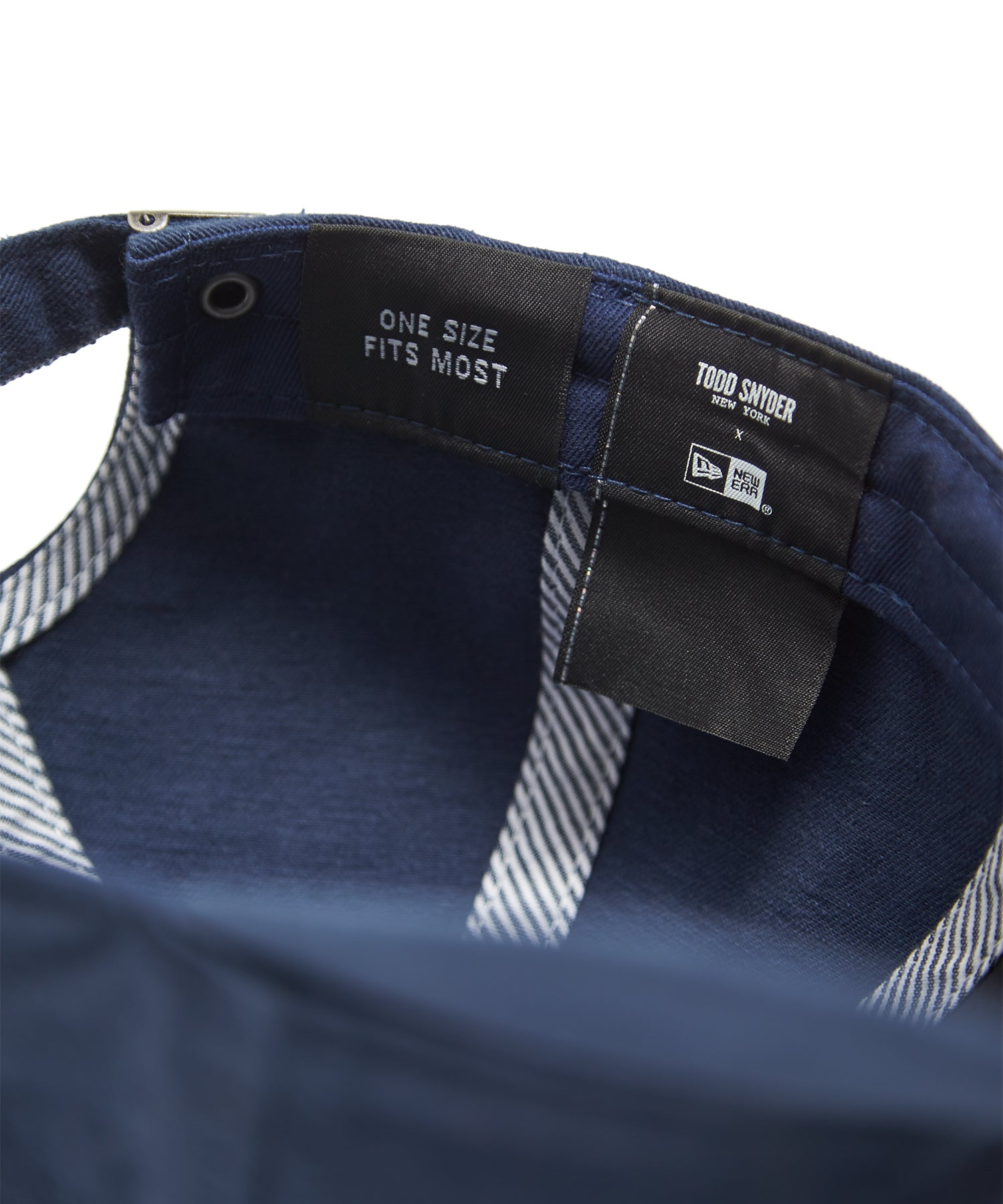 timeless design a49da a27ae Todd Snyder + New Era Dad Hat In Navy Selvedge Chino