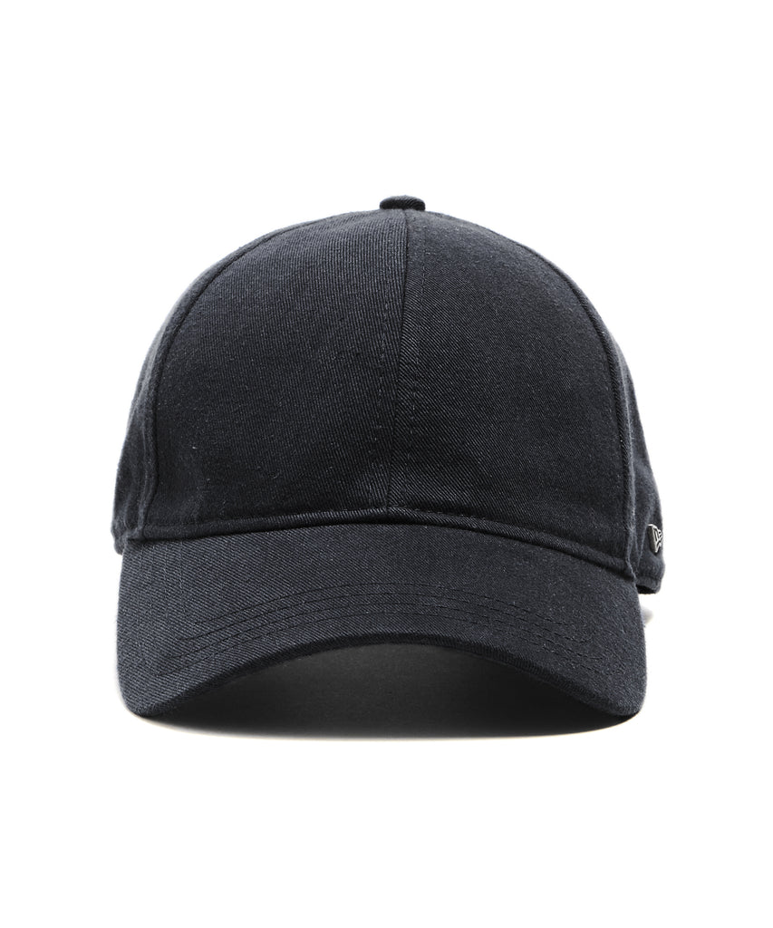 Todd Snyder + New Era Dad Hat in Black Selvedge Chino