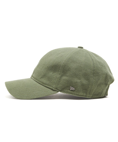 Todd Snyder + New Era Dad Hat In Olive Selvedge Chino