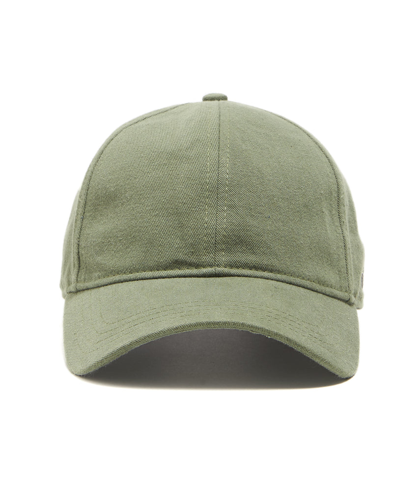 Todd Snyder + New Era Dad Hat In Olive Selvedge Chino c18e3d57852
