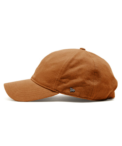 Todd Snyder + New Era Selvedge Chino Dad Hat in Chestnut