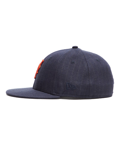 Todd Snyder + New Era New York Mets Cap In Navy Pinstripe