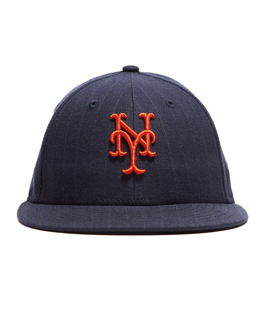 Todd Snyder + New Era New York Mets Cap In Navy Pinstripe 9e6a754e461