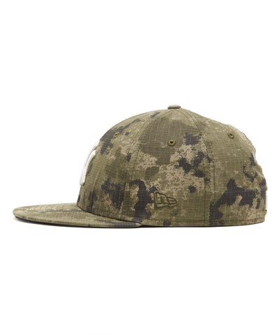 Todd Snyder + New Era New York Yankees Cap In Camo Ripstop