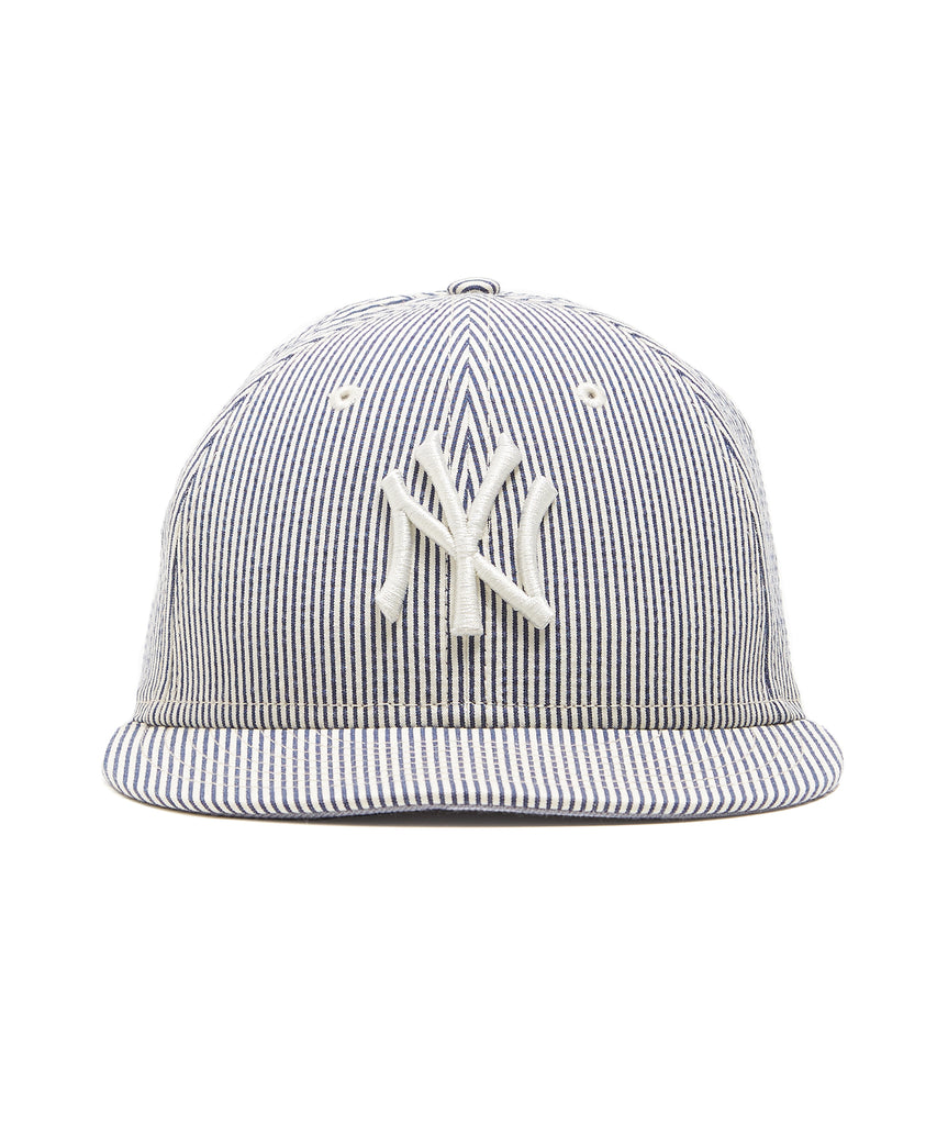 41ba491bacc15 Todd Snyder + New Era New York Yankees Cap In Seersucker