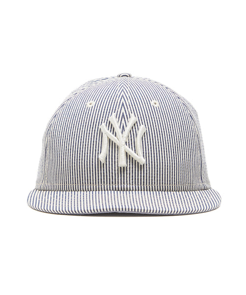 Todd Snyder + New Era New York Yankees Cap In Seersucker