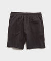 Lightweight Warm Up Short in Black