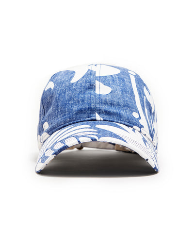 Exclusive New Era + Reyn Spooner Dad Hat in Blue