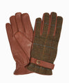 Dents Muncaster Abraham Moon Tweed & Deerskin Leather Gloves